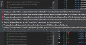 Code voorbeeld
